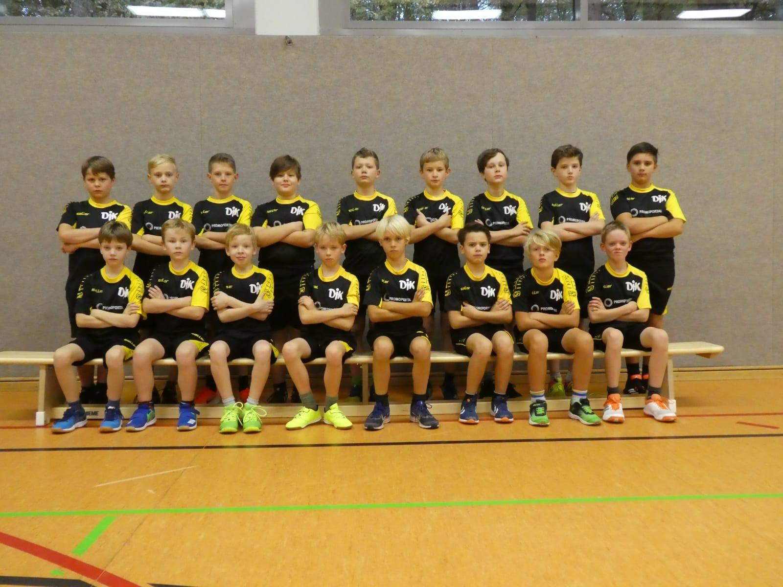 Mannschaft E Jugend (männl.) JUGENDHANDBALL | DJK