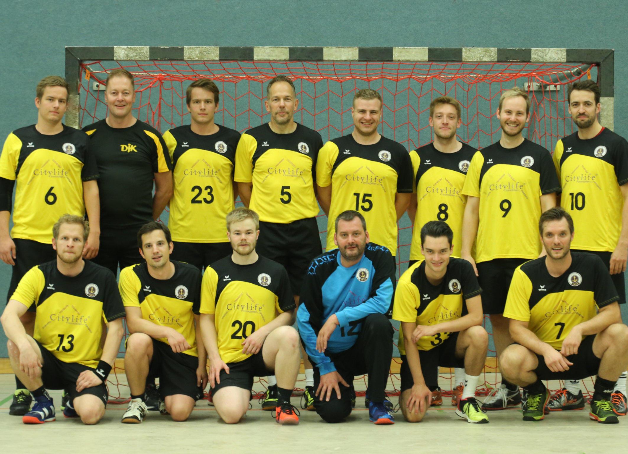 Mannschaft 2. Herren HANDBALL | DJK Eintracht Hiltrup